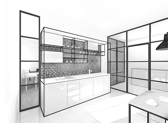 <strong>TEA KITCHEN INTERIOR<span><b>in</b>Commercial interiors</span></strong><i>→</i>